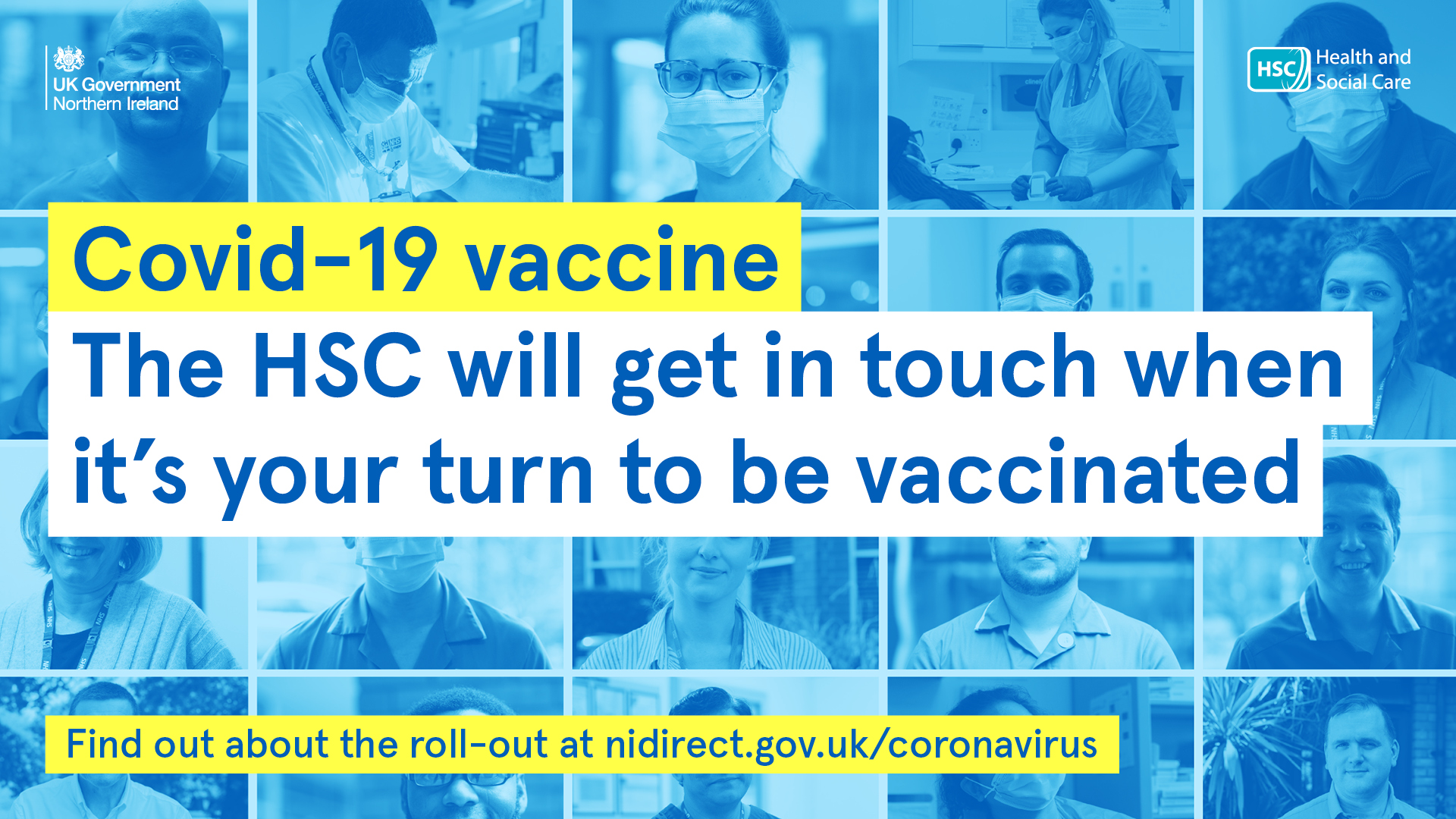 COVID-19 - get vaccinated if you are invited